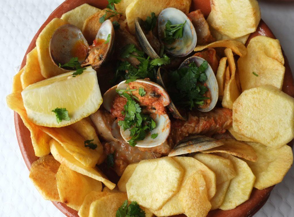 Pork clams porto covo