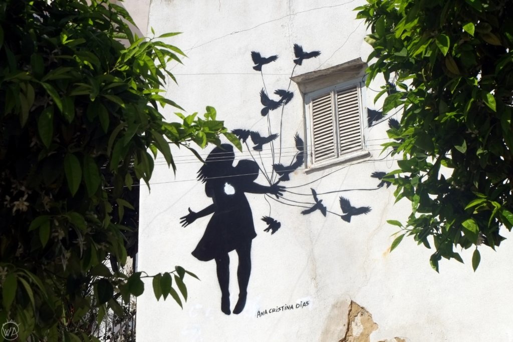 Mural in Lisbon Alfama
