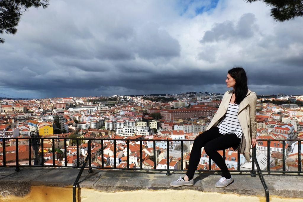 Miradouro da Graça Lisbon view