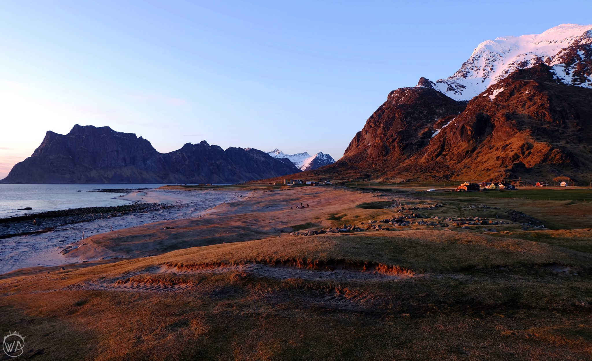Lofoten islands Norway, one of the non touristy holiday destinations to escape the crowds