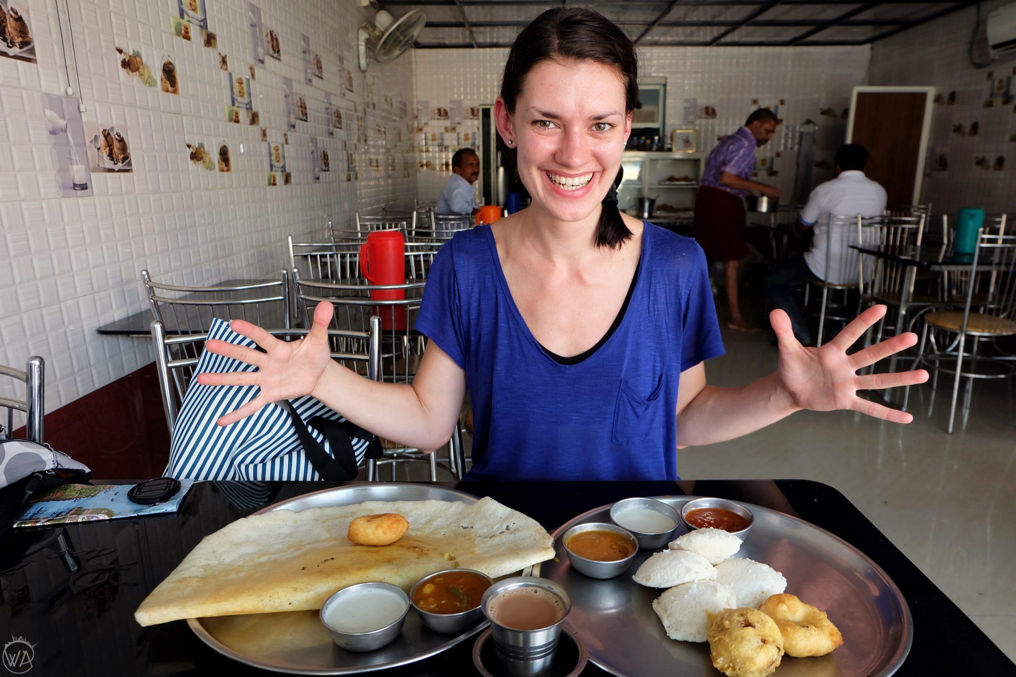 masala dosa in India
