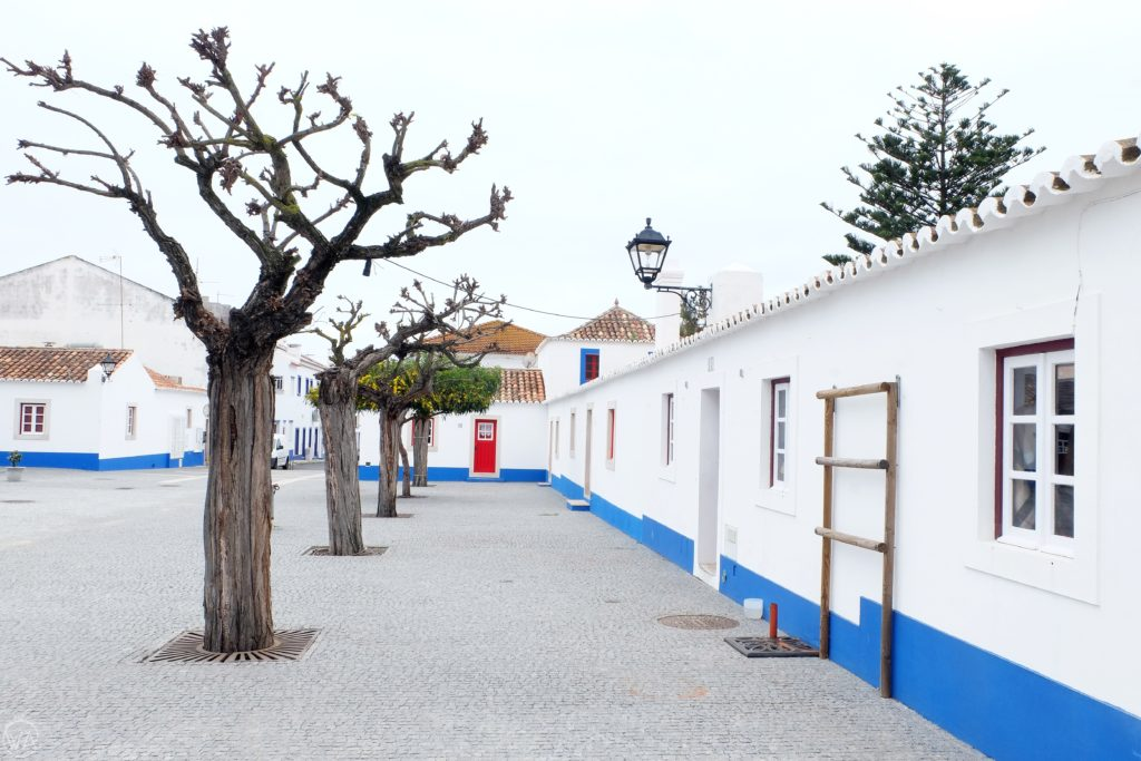 Porto covo buildings