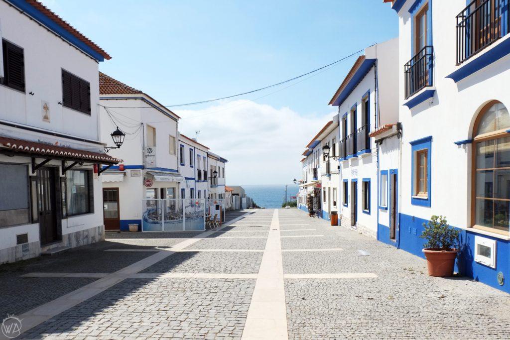 The sea in Porto covo