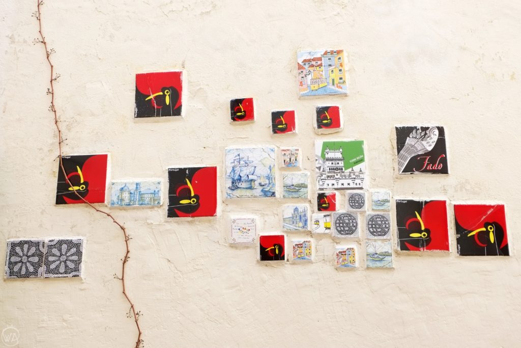 Tiles Lisbon Portugal artists
