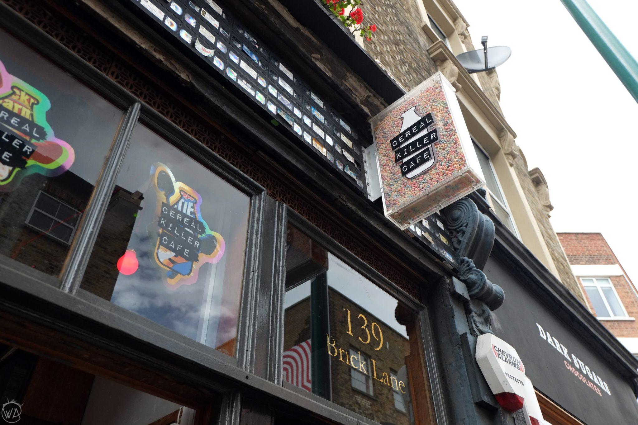 Cereal Killer Cafe Brick Lane London
