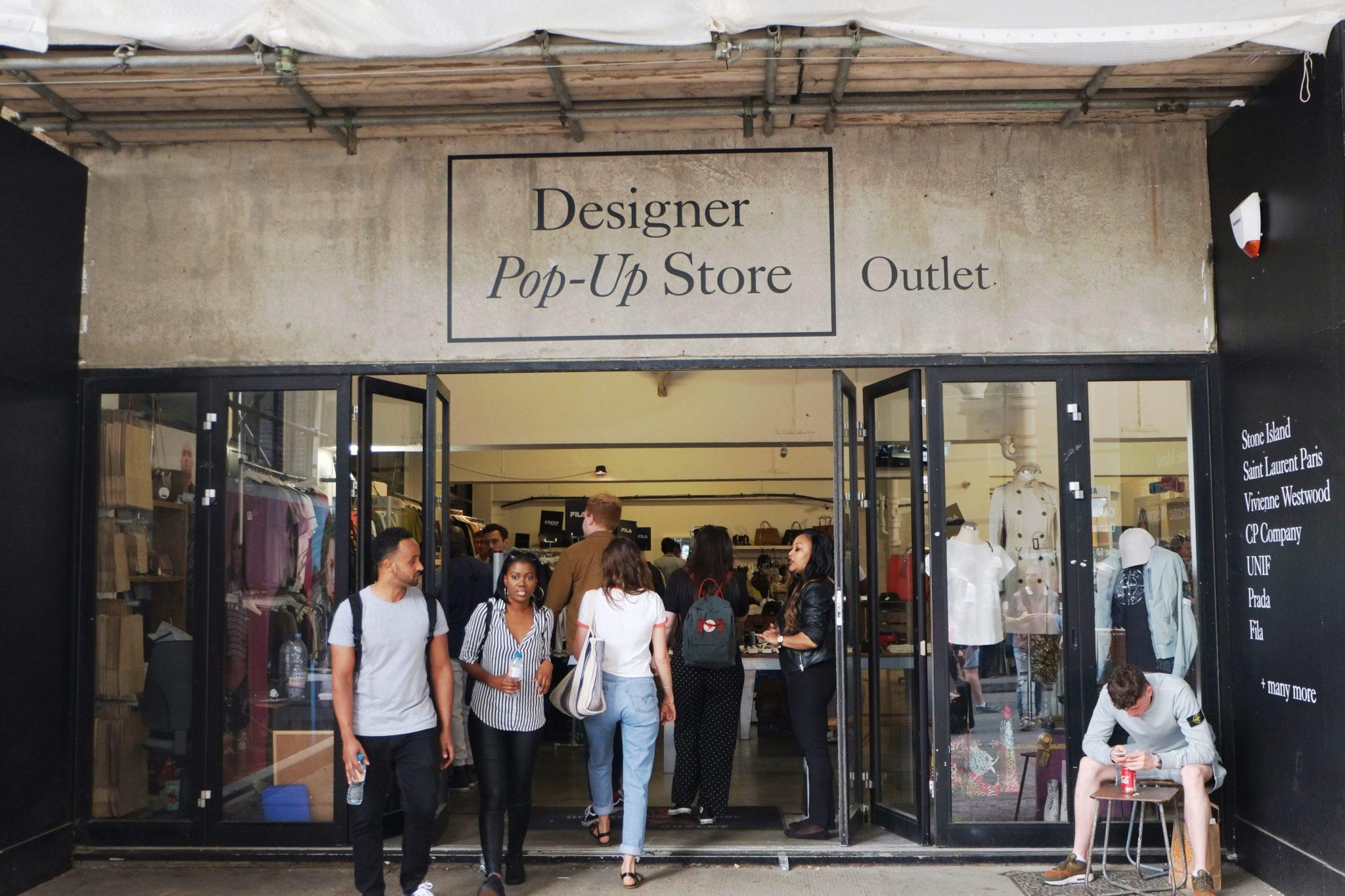 Designer store Brick Lane