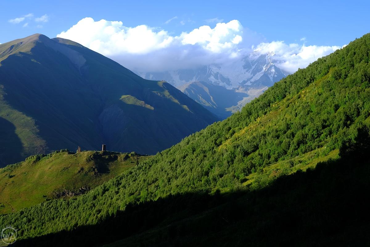 Svanetia, mountains in Georgia