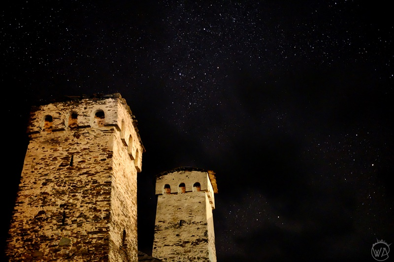 Traditional defence towers, Svaneti Georgia