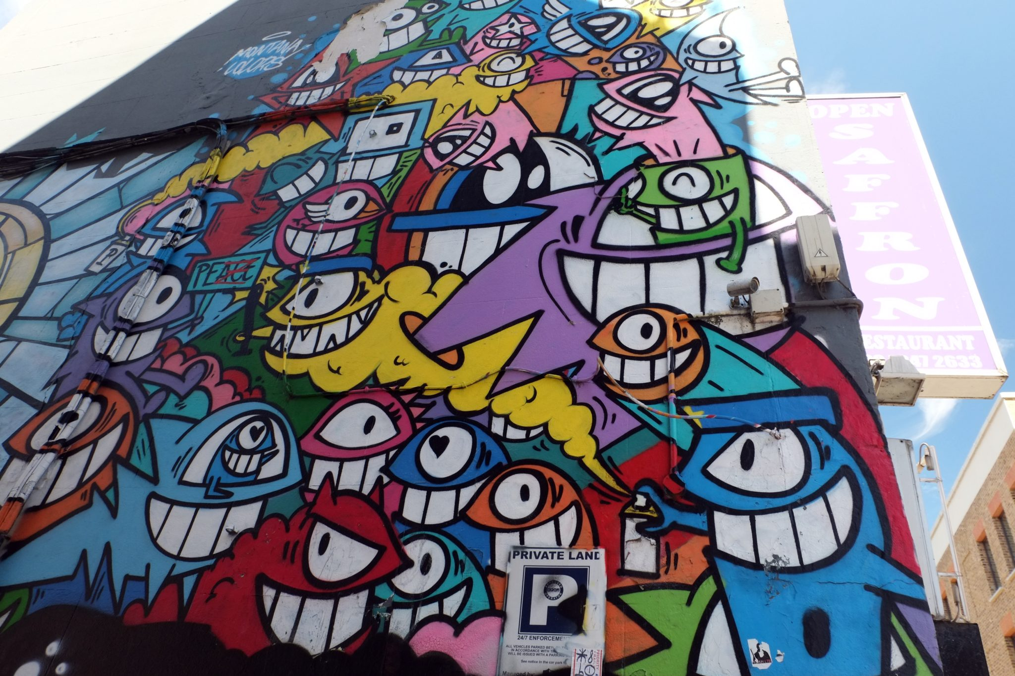Street art in London, Brick Lane