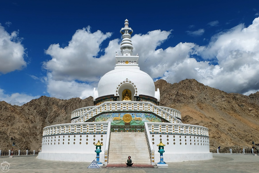 Ladakh temple, Leh, India