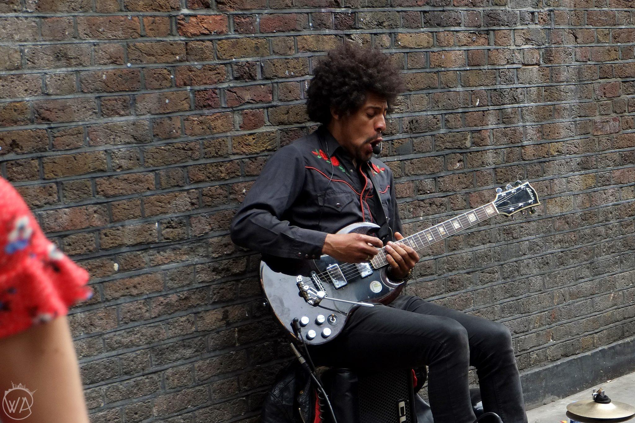 Music artists Brick lane
