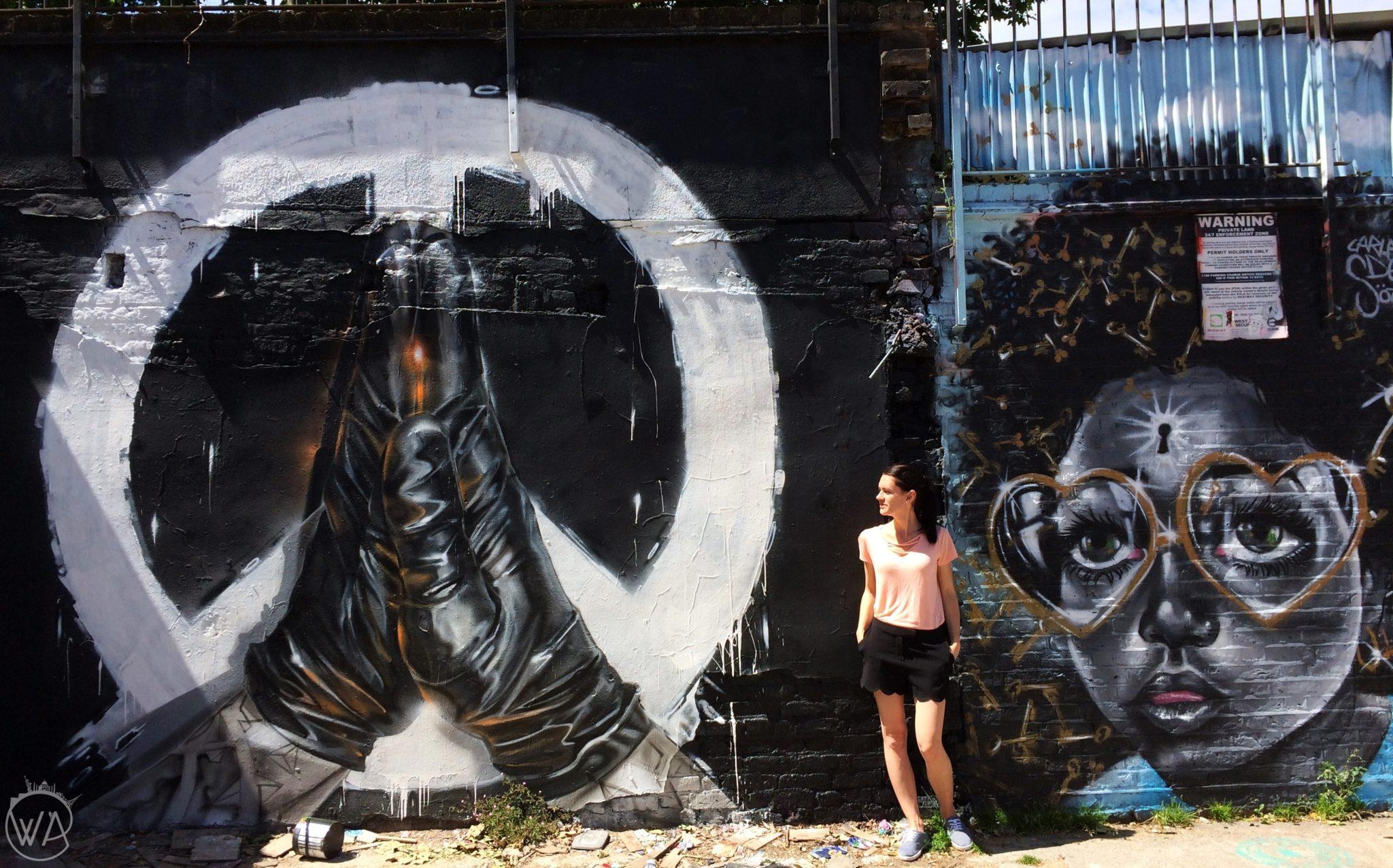 street art mural London