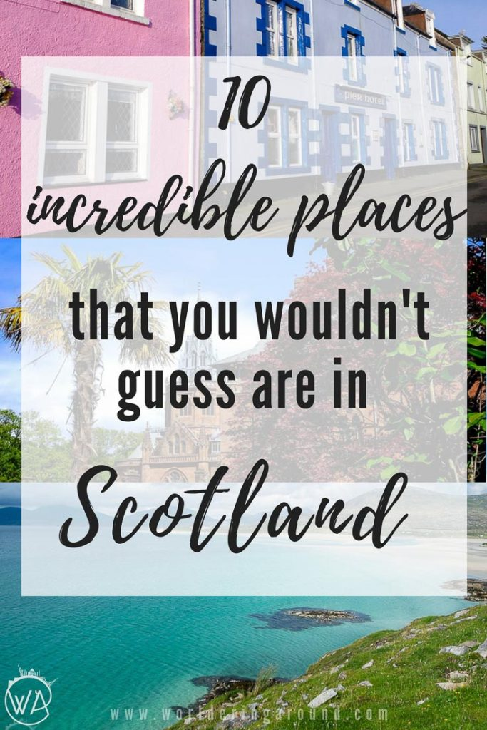 10 incredible places that you wouldn't guess are in Scotland. Discover incredible places in Scotland, that you never knew existed. Exotic beaches and snowy mountain peaks, get off the beaten track and find out that Scotland has it all.