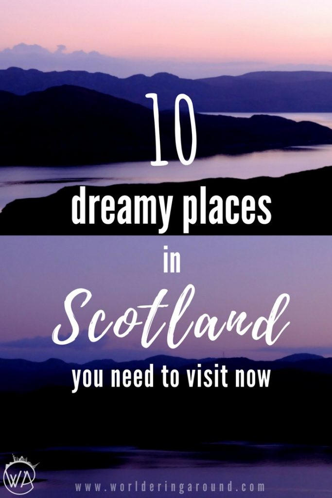 10 incredible places that you wouldn't believe are in Scotland. Discover incredible places in Scotland, that you never knew existed. Exotic beaches and snowy mountain peaks, get off the beaten track and find out that Scotland has it all. | Worldering around #Scotland #Europe #hiddengems