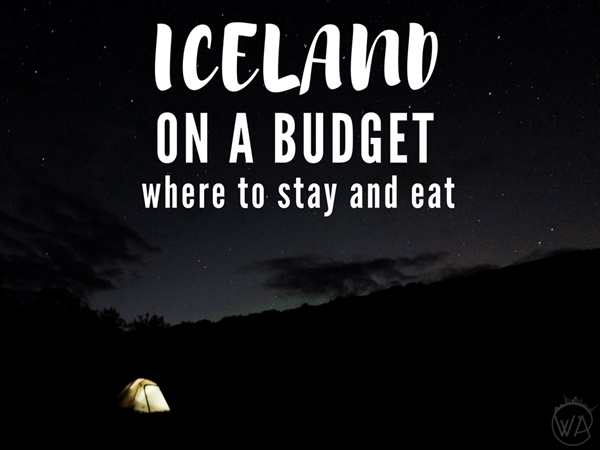 Iceland on a budget where to stay and eat to lower the Iceland trip cost + Iceland prices