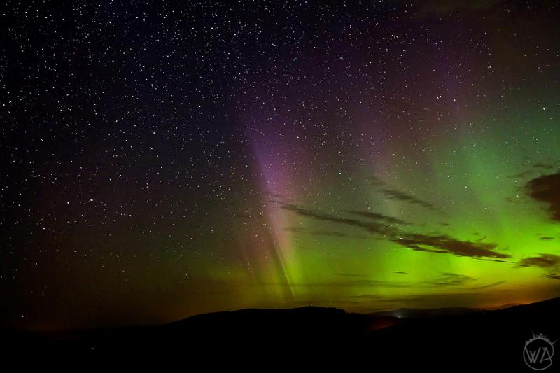 Northern Lights in Scotland
