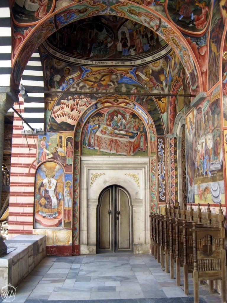 Monastery Rila in Bulgaria