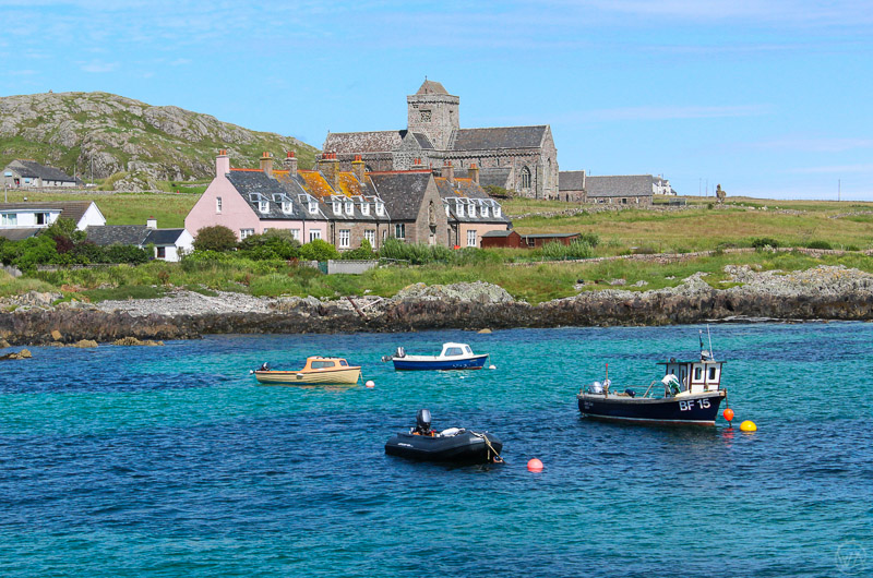 Abbey in Isle of Iona, Scotland
