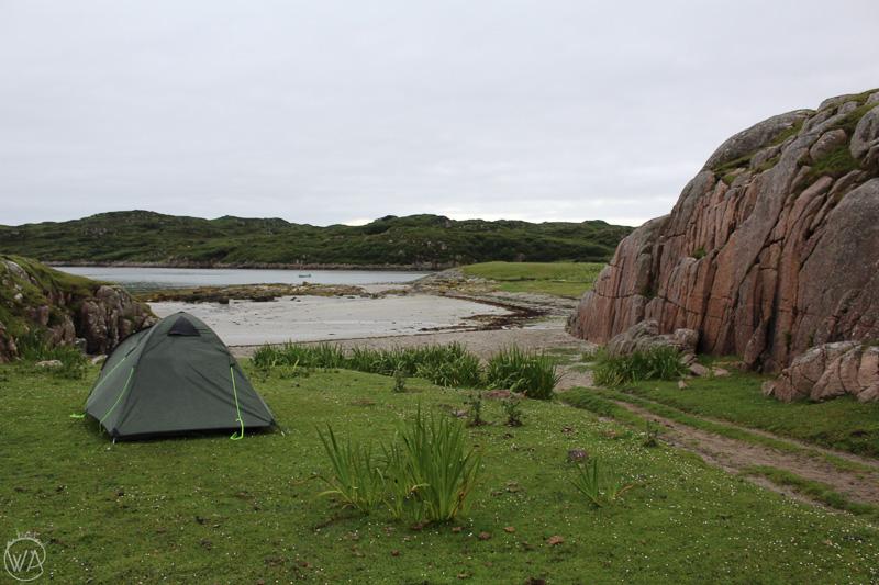 wild camping Isle of Mull