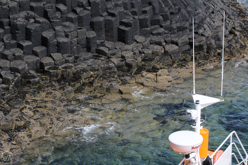 Hexagonal columns, Isle of Staffa