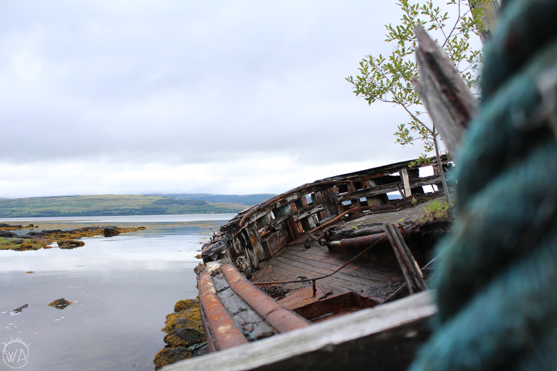 Interesting sights on the way, Isle of Mull