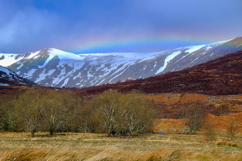 Rainbow in Scotland