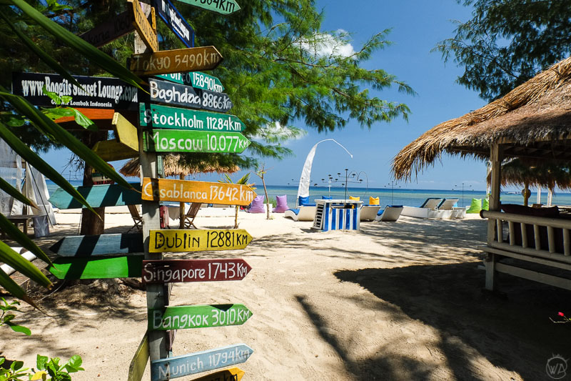 How to plan a trip to Asia, Gili islands, Indonesia