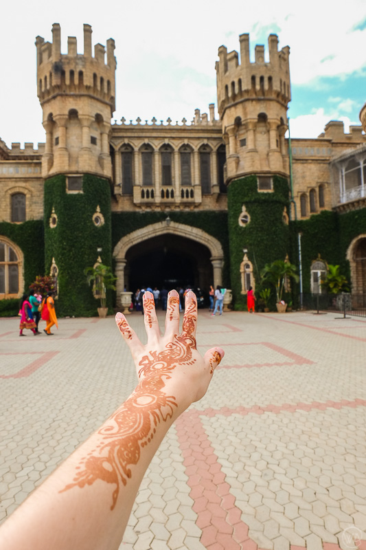 Mehendi and Bangalore Palace, India, Karnataka, best places to visit in Bangalore in one day