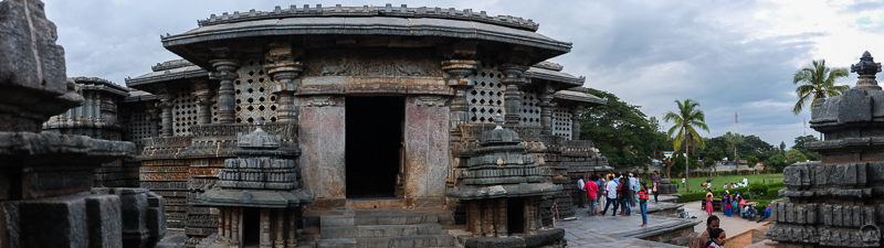 Halebid temple view, Karnataka India, Halebidu India