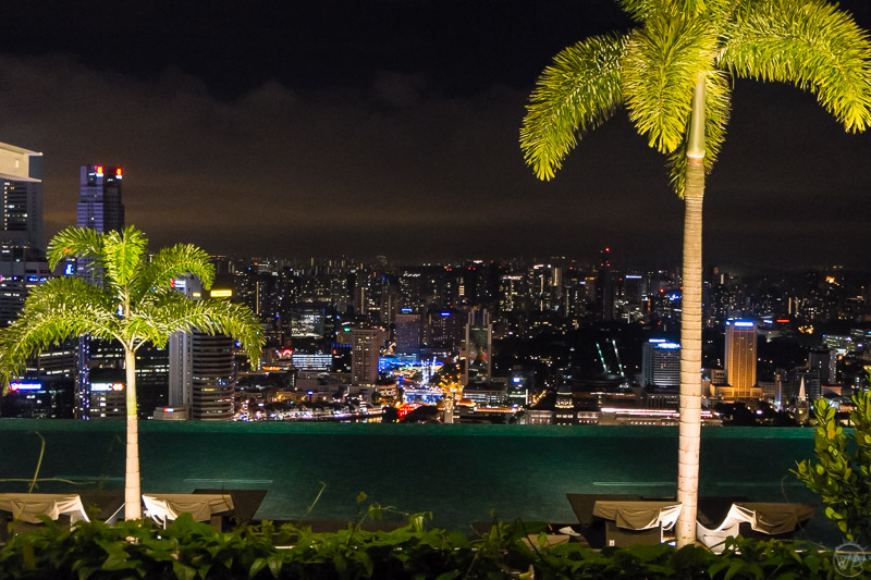 Marina Bay Sands infinity pool, Singapore in 24 hours - what to visit in Singapore in a day