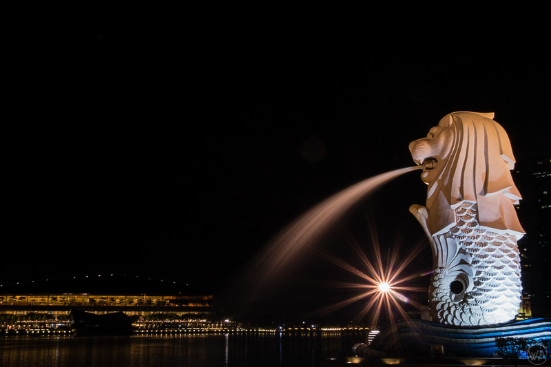 Merlion, Singapore in 24 hours - what to visit in Singapore in a day