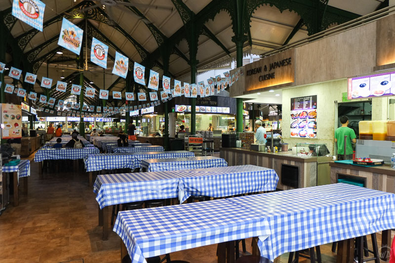 Food in Singapore, Hawker centre, Singapore in 24 hours - Top places to see in singapore in a day