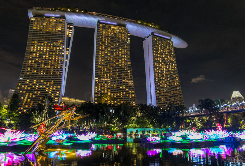 Marina Bay Sands, Singapore in 24 hours - what to visit in Singapore in a day