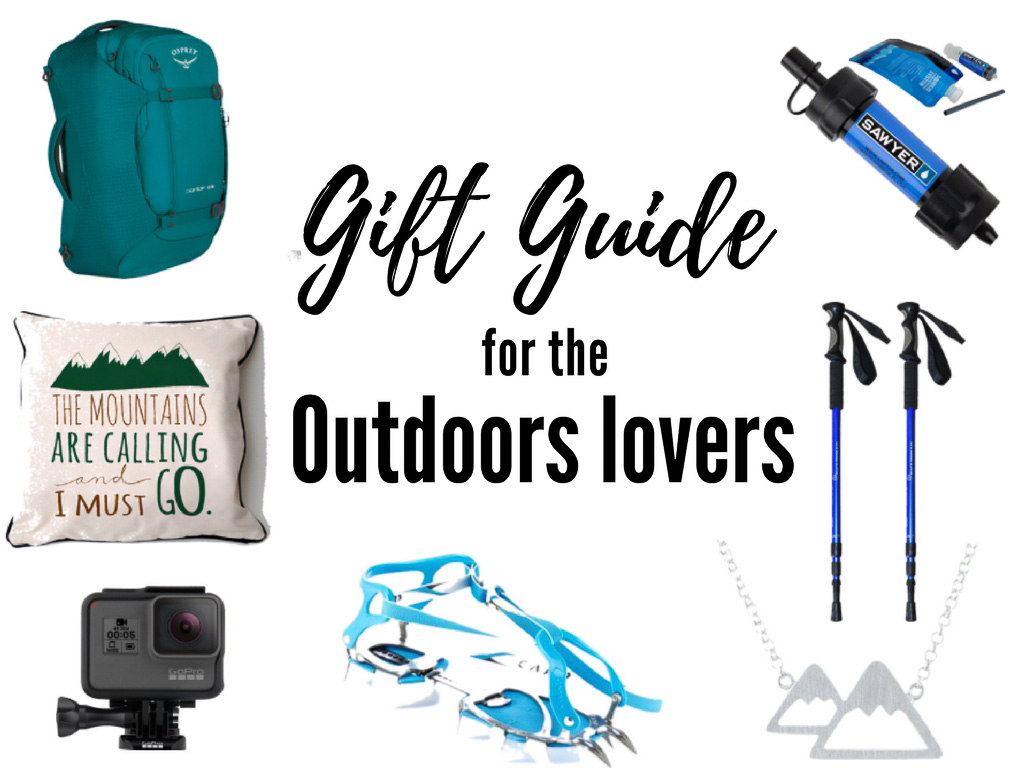 25+ Best Outdoor Gifts for Hikers & Nature lovers (all budgets)