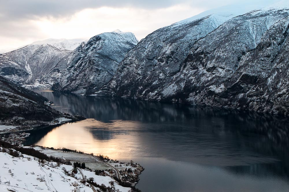 Norway fjords in winter - Norway in a Nutshell in winter