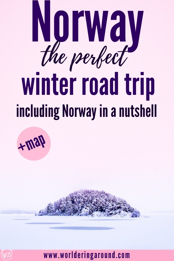 Experience the epic Norway winter travel with this 5 day roadtrip itinerary covering true winter wonderland adventures. Starting from Oslo and going through the most scenic routes in Norway with Norway in the Nutshell and UNESCO fjords, it's a perfect idea for winter holidays in Norway. | Worldering around #Norway #Norwayinanutshell #roadtrip #winter