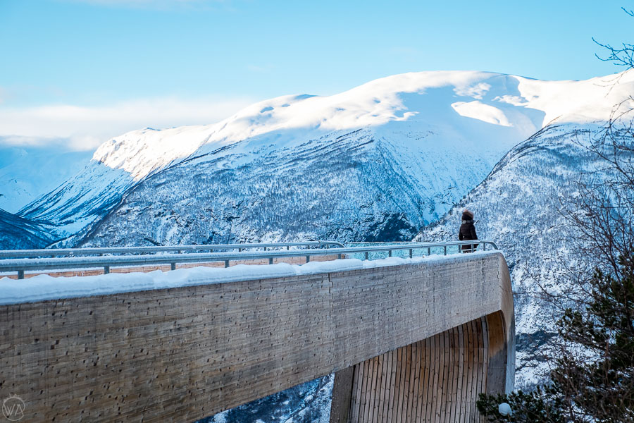 Stegastein viewpoint, the best things to do in Flam and Aurland, Norway in a Nutshell in winter