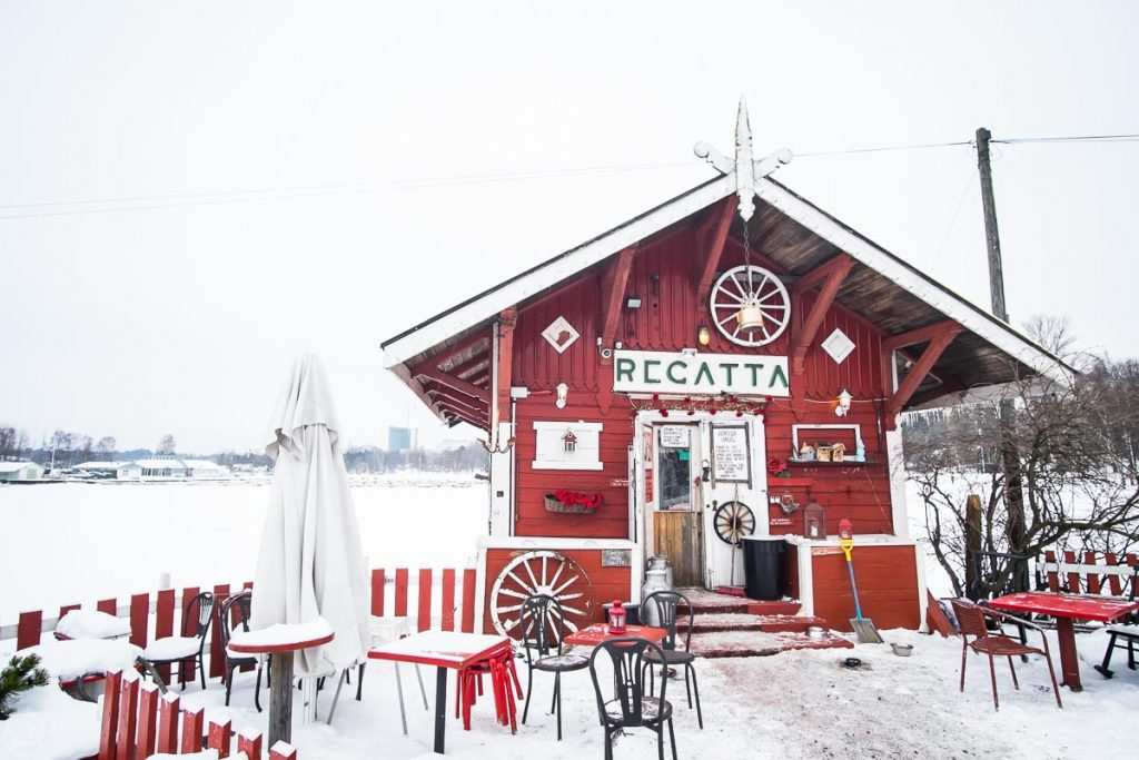 Cafe Regatta, what to do in Helsinki in winter Finland