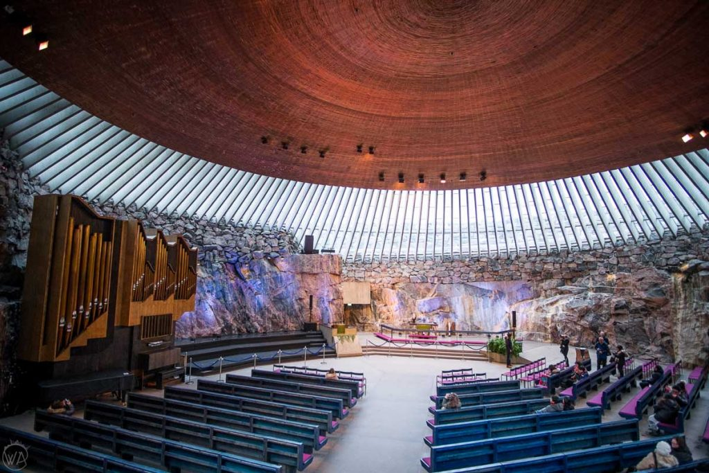 Rock Church, what to do in Helsinki in winter
