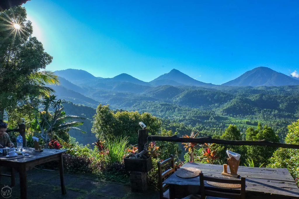 Munduk view to the hills around, Bali - Indonesia 10 days travel itinerary, where to stay in Bali, Munduk