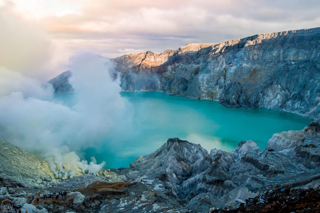 Ijen volcano - best places to visit in Indonesia