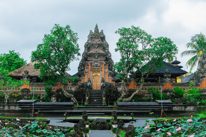 Pura Taman Saraswati in Ubud, Bali - Indonesia 10 days travel itinerary