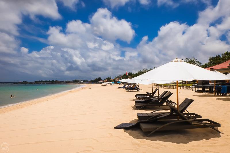 Indonesia 10 days travel itinerary - Jimbaran beach Bali