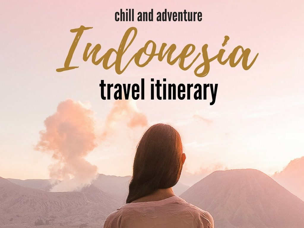 Indonesia 10 days travel itinerary, best places to visit in Indonesia