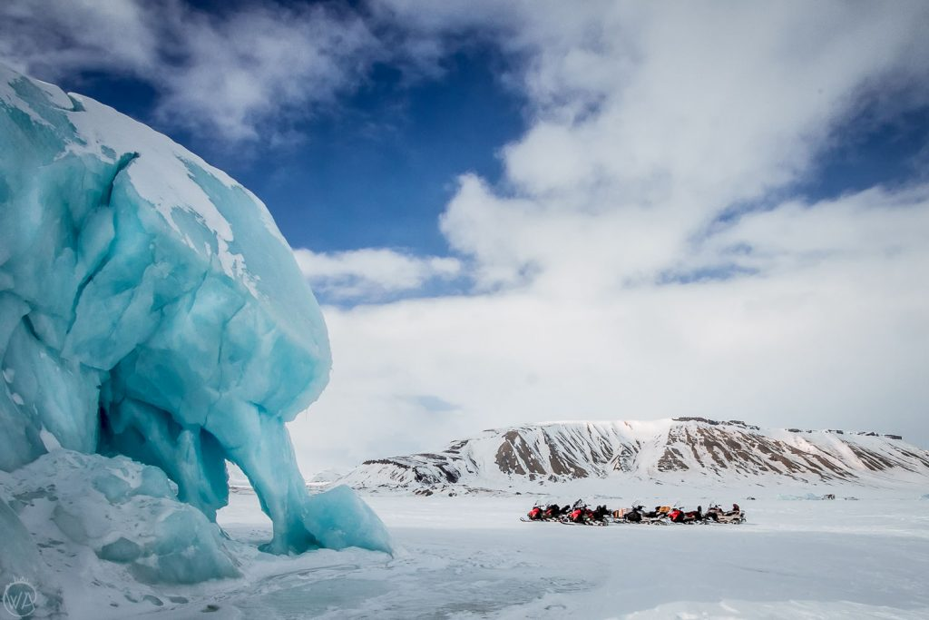 Svalbard East Coast snowmobile tours arctic adventure