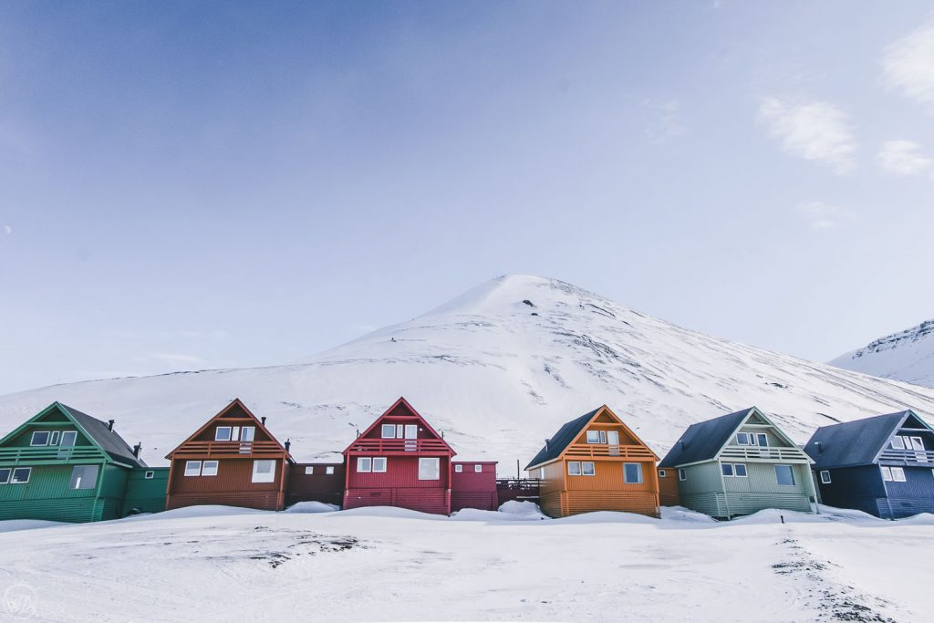 Colourful houses in Longyearbyen - Best things to do in Svalbard tour arctic adventure