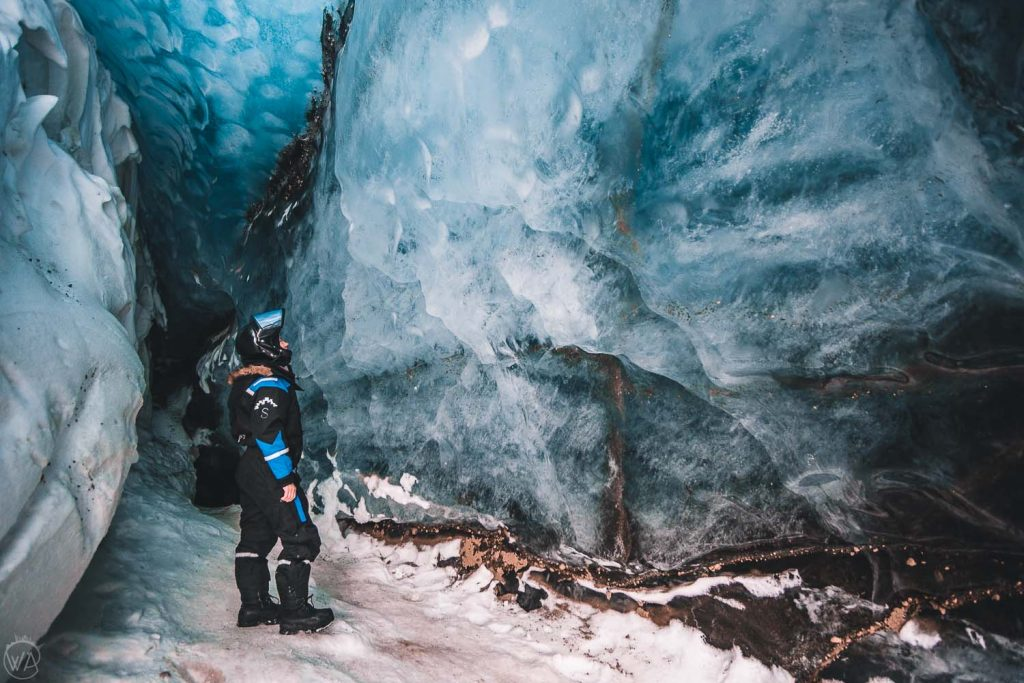 Ice cave Svalbard - Best things to do in Svalbard tour arctic adventure
