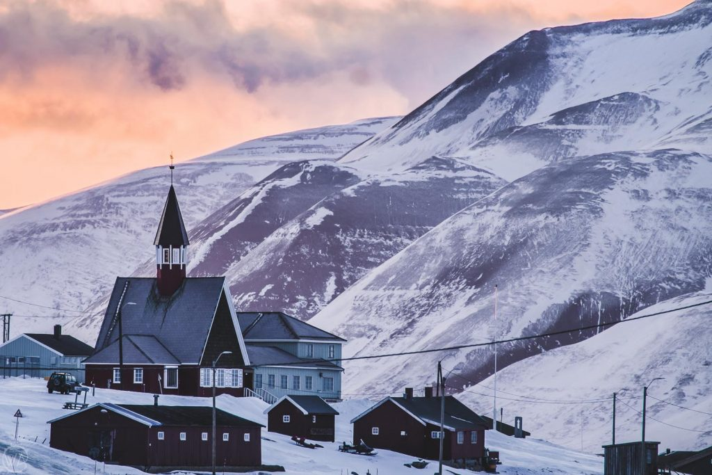 the most northerly church in Longyearbyen - Best things to do in Svalbard tour arctic adventure