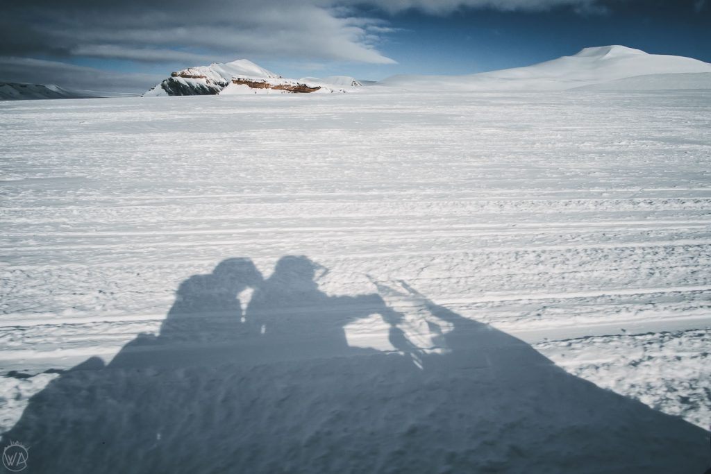Svalbard snowmobile tour