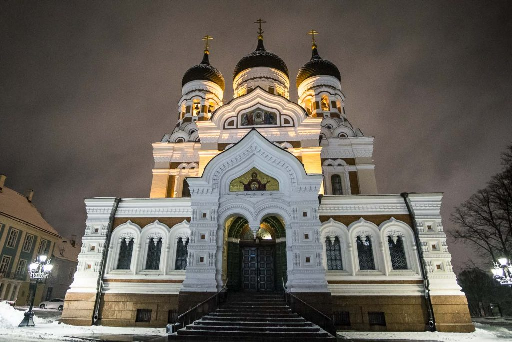 St. Alexander Nevsky Cathedral Tallinn Tallinn sightseeing winter things to do in Tallinn in winter